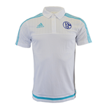 Polo Schalke 04 2015-2016 (Blanco)