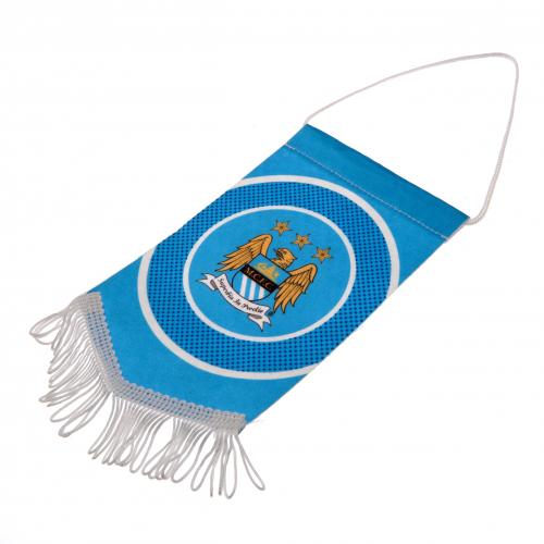 Mini Banderita Manchester City FC