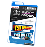 Ultimate Guard Premium Comic Book Dividers Separadores para Cómics Azul (25)