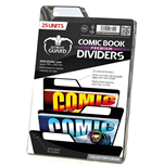 Ultimate Guard Premium Comic Book Dividers Separadores para Cómics Negro (25)