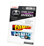 Ultimate Guard Premium Comic Book Dividers Separadores para Cómics Blanco (25)