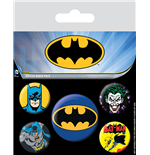 Batman Pack 5 Chapas