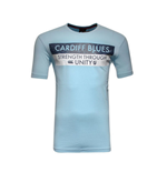 Camiseta Cardiff Blues 2015-2016 (Azul Cielo)