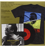 "Vinilo Miles Davis - Miles Runs The Voodoo Down / In A Silent Way (7"" & T Shirt Box Set)"