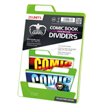 Ultimate Guard Premium Comic Book Dividers Separadores para Cómics Verde (25)