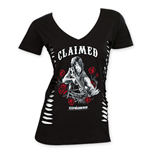 Camiseta The Walking Dead Claimed de mujer