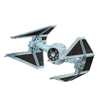 Star Wars Episode VII Maqueta 1/90 Tie Interceptor 10 cm
