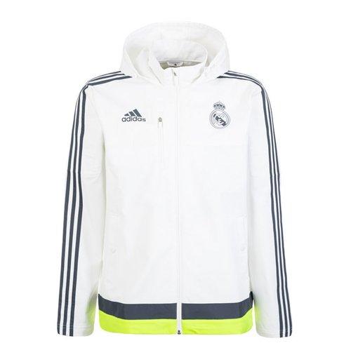 cute run shoes new release Chaqueta Real Madrid 2015-2016 (Blanco)