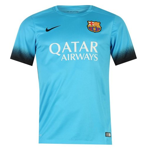 Compra Camiseta FC Barcelona 2015-2016 Third Nike de niño Original 59db0c38fe6
