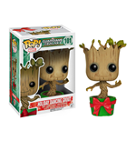 Guardianes de la Galaxia POP! Vinyl Cabezón Holiday Dancing Groot 10 cm
