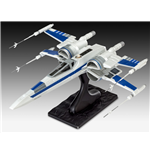 Star Wars Episode VII Maqueta EasyKit Resistance X-Wing Fighter 25 cm