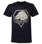 Camiseta Metal Gear V Diamond Dogs Army - L