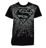 Camiseta Superman Shattered Logo