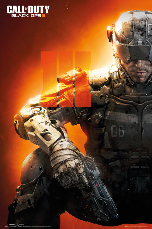 Póster Call Of Duty Black Ops 3