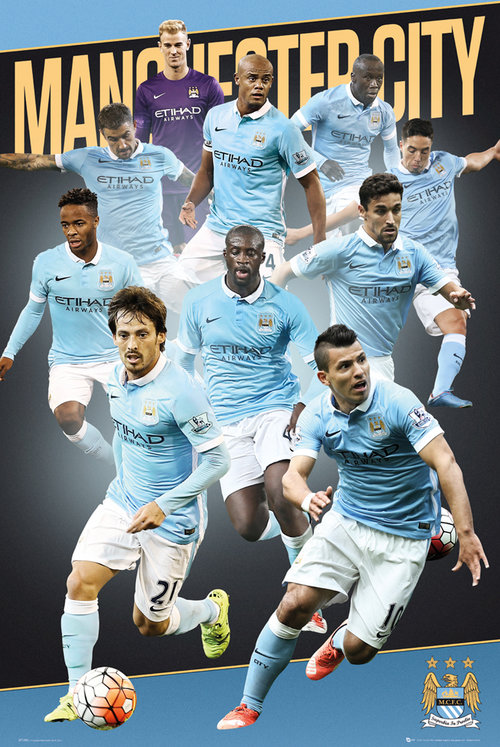 Póster Manchester City FC 175901