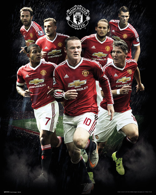 Póster Manchester United FC 175907