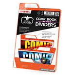Ultimate Guard Premium Comic Book Dividers Separadores para Cómics Naranja (25)