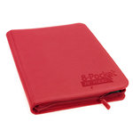 Ultimate Guard 8-Pocket ZipFolio XenoSkin Rojo