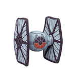 Star Wars Episode VII Vehículo Peluche Tie Fighter 18 cm