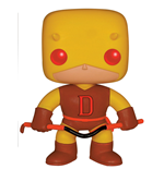 Marvel Comics POP! Vinyl Cabezón Yellow Daredevil Limited 9 cm