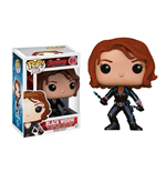 Los Vengadores 2 La Era de Ultrón POP! Vinyl Cabezón Black Widow 10 cm
