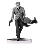 Batman Black & White Estatua The Joker by Lee Bermejo 2nd Edition 18 cm