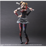 Batman Arkham Knight Play Arts Kai Figura Harley Quinn 25 cm