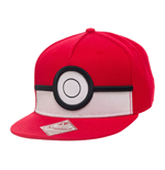 Pokemon Gorra Béisbol Snap Back 3D Poke Ball