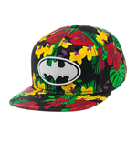 Batman Gorra Béisbol Snap Back Flower Print