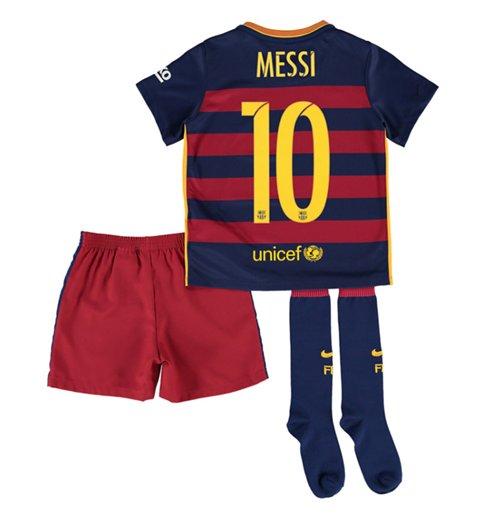 1bcd202c85ef1 Compra Equipación FC Barcelona 2015-2016 Home de niño Messi 10