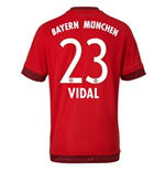Camiseta Bayern de Munich 2015-2016 Home