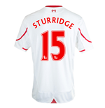 Camiseta Liverpool FC 2015-2016 Away