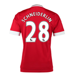 Camiseta Manchester United FC 2015-2016 Home