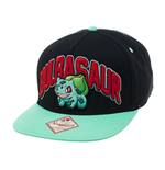 Pokemon Gorra Béisbol Snap Back Bulbasaur