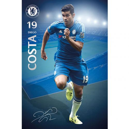 Póster Chelsea Diego Costa 35