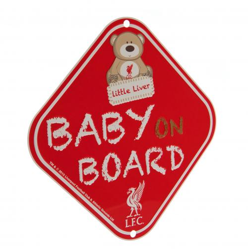 Accesorios Coche Liverpool FC - Baby on Board