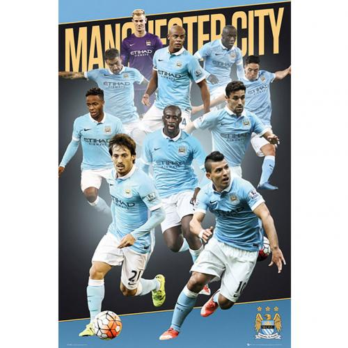 Póster Manchester City FC 176989
