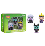 Disney Pack de 3 Figuras Pocket POP! Vinyl Tin Maleficent, Ursula, Evil Queen 4 cm