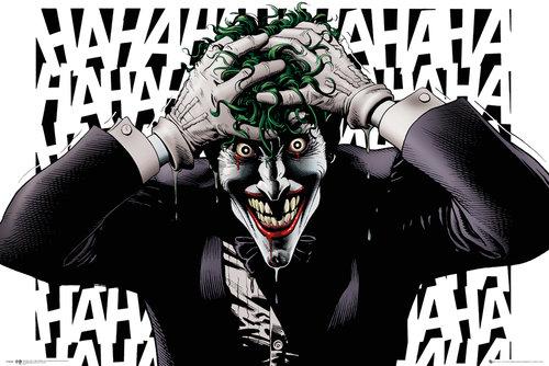 Póster Superhéroes DC Comics Killing Joke