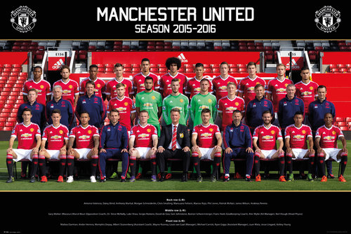 Póster Manchester United FC 177444
