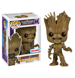 Guardianes de la Galaxia POP! Vinyl Cabezón Angry Groot Exclusive 10 cm