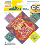 Minions Pegatina Vinilo Pack (10) Groovy