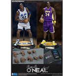 NBA Collection Figura Real Masterpiece 1/6 Shaquille O'Neal Limited Edition Duo Pack 37 cm