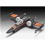 Star Wars Episode VII Maqueta Build & Play con sonido Poe's X-Wing Fighter 22 cm