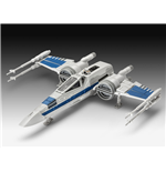 Star Wars Episode VII Maqueta Build & Play con sonido X-Wing Fighter 22 cm