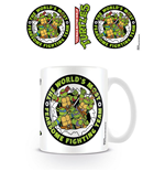 Tortugas Ninja Taza Fearsome Fighting