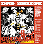 Vinilo Ennio Morricone - Queimada (Clear & Orange Mixed Vinyl+Poster)