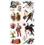 Star Wars Episode VII Pegatinas de Pared Characters