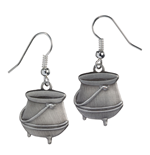 Harry Potter Pendientes Potion Cauldron (plateado)
