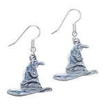 Harry Potter Pendientes Sorting Hat (plateado)